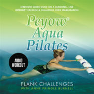 Peyow® Aqua Pilates Plank Challenges Audio CD