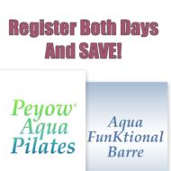Peyow™ Aqua Pilates & Aqua Funktional Barre Combo